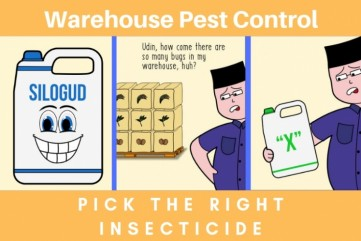 Warehouse Pest Control, Pick The Right Insecticide